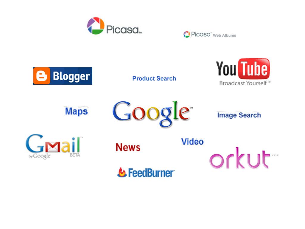 Google's stuff