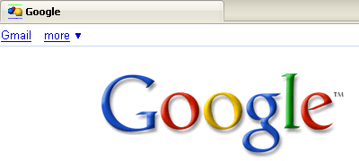 Example 2 of the Google favicon by Richard X. Thripp