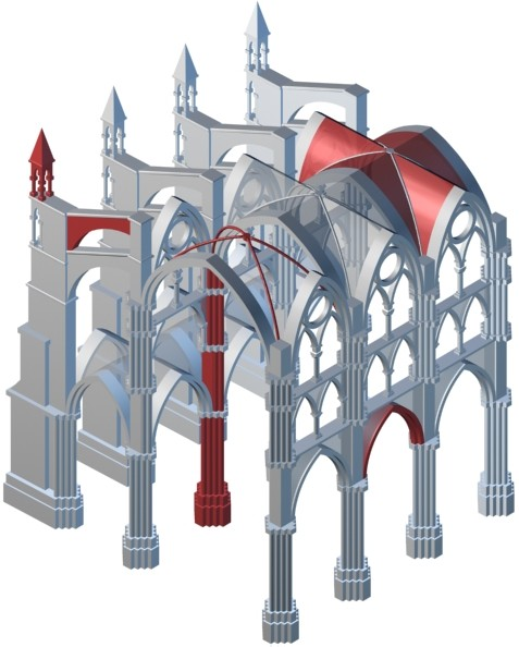 a comparison of architectural styles in romanesque and gothic period 31 pre-romanesque 32 romanesque 33 gothic 4 renaissance architecture  5 baroque 6 rococo 7 palladian 8 neoclassical 9 beaux.