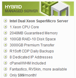 WiredTree Hybrid specs